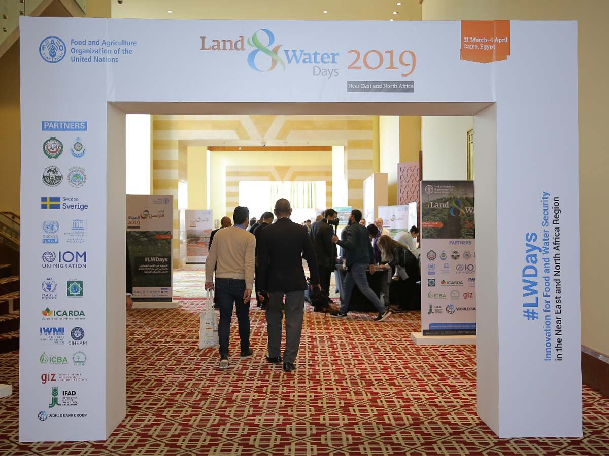Land and Water days 2019 event-Entrance-Nile Ritz Carlton by Paradigm Ltd.