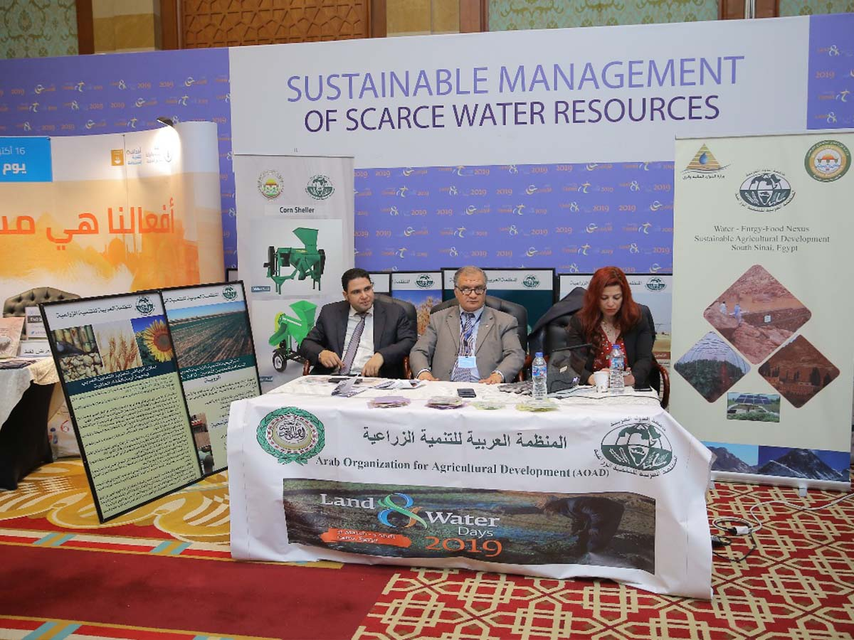Land and Water days 2019 event - Market Place by Paradigm Ltd.