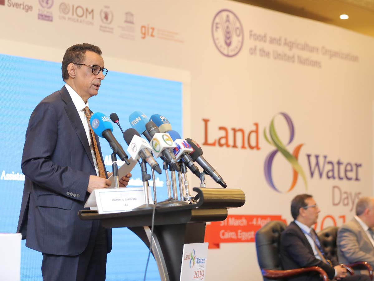 Land and Water days 2019 event - Alf Leila Ballroom by Paradigm Ltd.