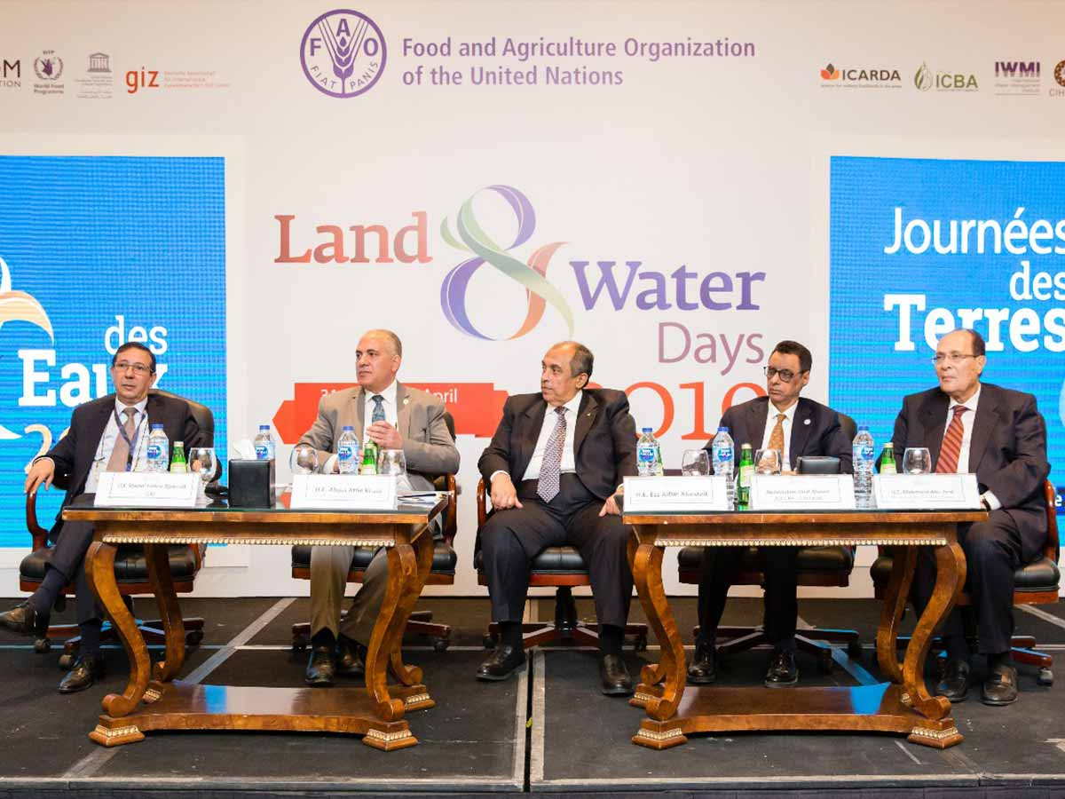 opening session - land and water days 2019 event