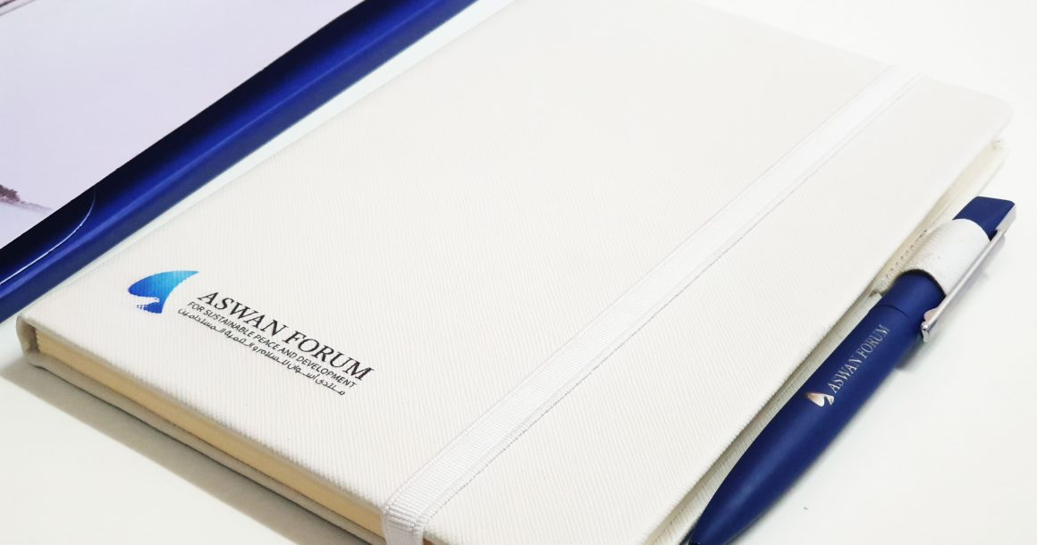 Aswan Forum Branded Notebook and Pen